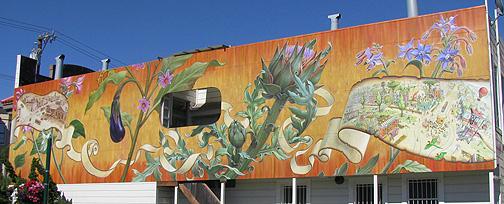 Mona Caron's new Noe Valley Mural