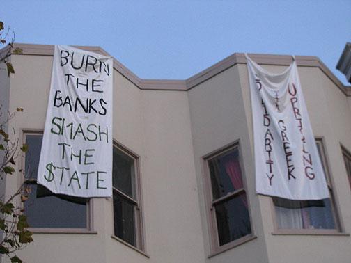 Anarchist Enthusiasm, Dec. 20, 2008, San Francisco.