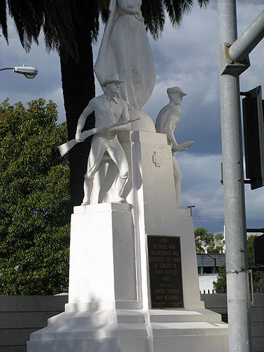 "Like our monuments in SF, Los Angelenos also celebrate the genocidal war against the Philippines (we ignorantly still refer to it as the ""Spanish-American War"") in 1898-1903."