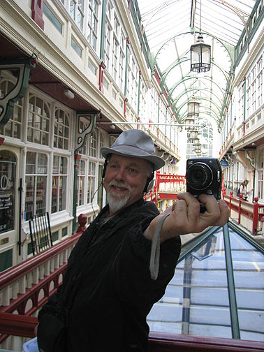 Me shooting myself in a mirror in the Castle Arcade. We were told that all photography in the Arcades is illegal and banned! So most of us went out and took a lot more photos!