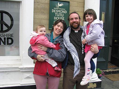 Angela, Cat, Chris, and Clara Howson, my amazing Bradford hosts!