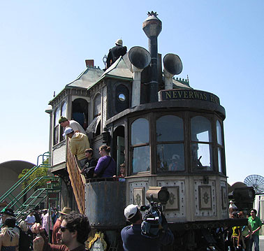 Steampunk Clubhouse, another project that began at Burning Man.