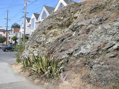A bit of Potrero Hill on Kansas, hidden from through traffic.