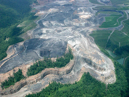West Virginia is being destroyed for coal, one mountaintop at a time.