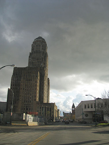 Buffalo's gorgeous art deco City Hall, built in the 1930s.