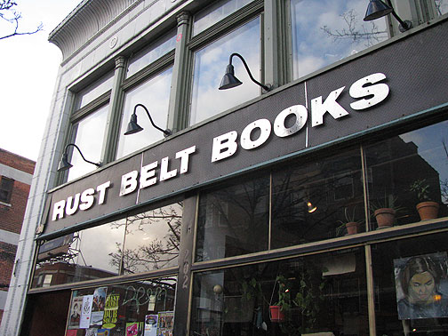 Rust Belt Books in Allentown district of Buffalo, NY.