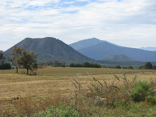Michoacan countryside.