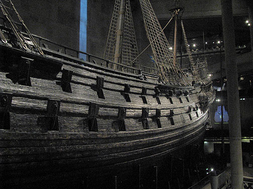 The Vasa Museum is a great experience, and the Vasa is a fantastic modern lesson! A massive warship built by the Swedish crown in 1628, it sailed few thousand meters on its maiden voyage and was blown over in a squall and sank. The most feared warship of its time was a lemon! It laid buried for 333 years until it was found and brought up in a 4 year effort in the early 1960s, a real archeological tour-de-force. Now it's on display in a dedicated museum and it's absolutely stunning. Frighteningly huge, the nuclear-powered aircraft carrier of its day.
