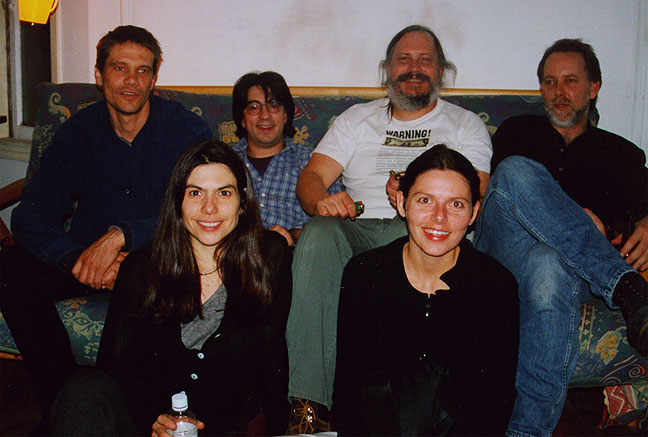 Some of the core production team for the first edition of Shaping San Francisco (left to right) Jim Swanson, Marina Lazzara, Joe Caffentzis, Greg Williamson, Magali Barre (not pictured) Jim Fisher, Dimitri de la Marea, Daniel Steven Crafts, and a host of other friends, interns, and contributors...