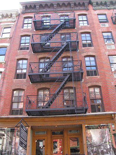97 Orchard, the recovered tenement.