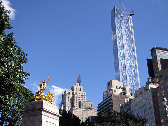 Like San Francisco, there's a frenzy of building in New York too, the global city saga...