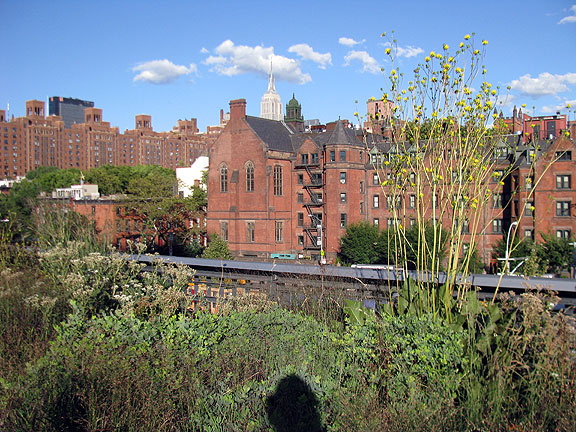 So many nice views from the Highline....
