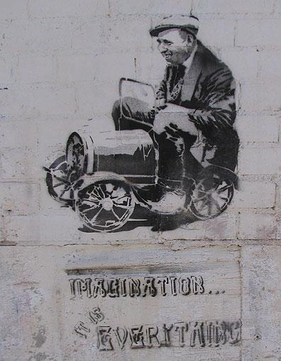 A nice stencil at Bicas.