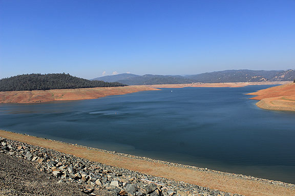 Lake Oroville, darned low!