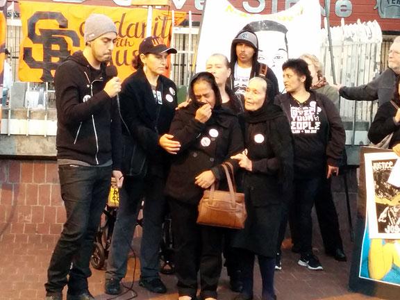 The family of Yanira Serrano.