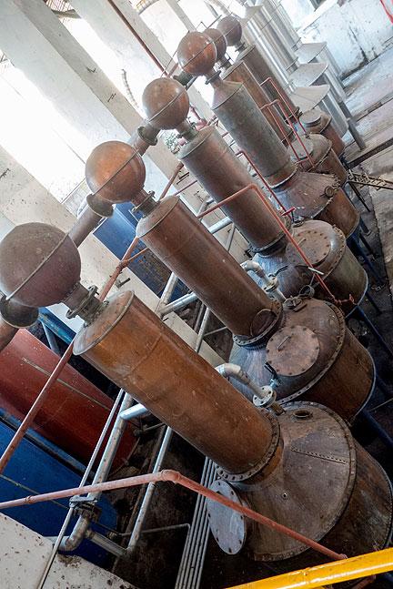 Distilling!