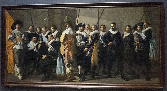 One of the many gorgeous 17th century paintings documenting the enormously self-satisfied new bourgeois at the heart of the early Dutch imperialism...