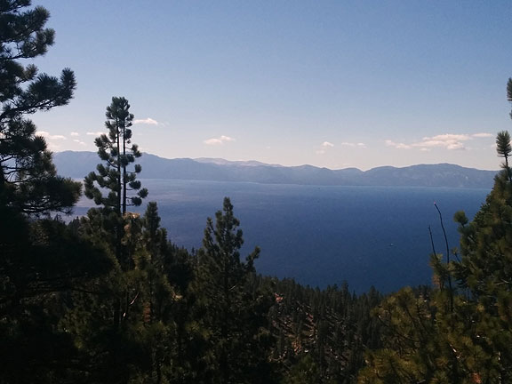 The rest of the images are from Lake Tahoe this past weekend... here seen from the trail to Lake Marlette.