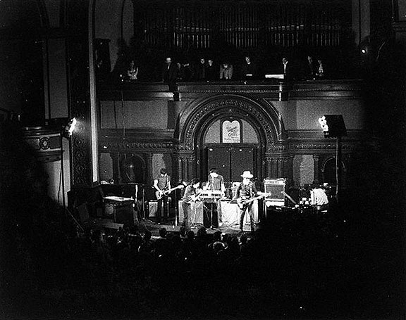 A 1979 show of the Flamin' Groovies at the Temple Beautiful, a converted former synagogue next door to Jim Jones' People's Temple on Geary near Fillmore. Photo: © Jeanne Hansen 2015