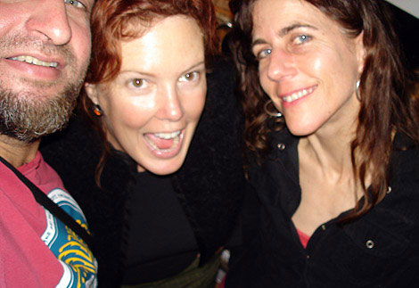 David Martinez, Mary, and Clare Corcoran in 2006.