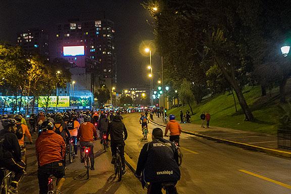 Critical Mass, Santiago, Chile, April 5, 2016