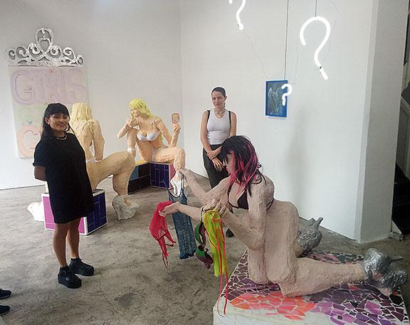 Chelsea Culprit's art show...